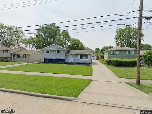 Image of rent to own home in Brookpark, OH