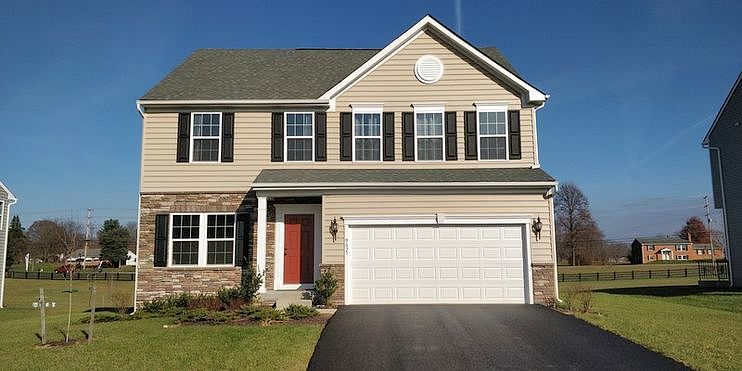 Image of rent to own home in Hagerstown, MD