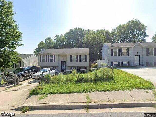 Image of rent to own home in Capitol Heights, MD