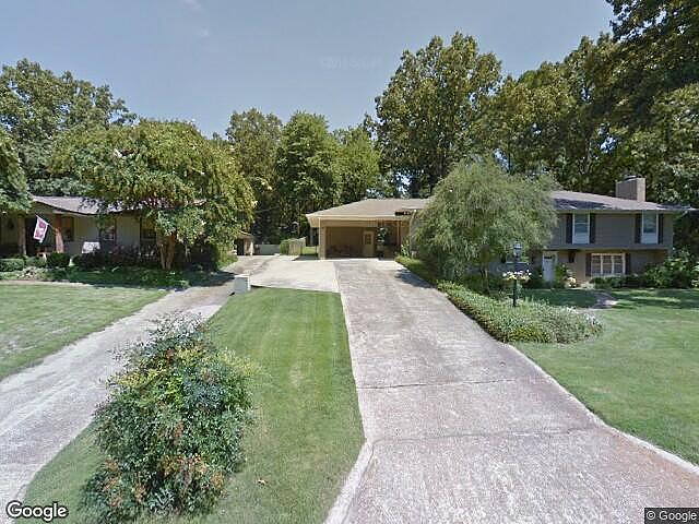 Image of rent to own home in Tupelo, MS