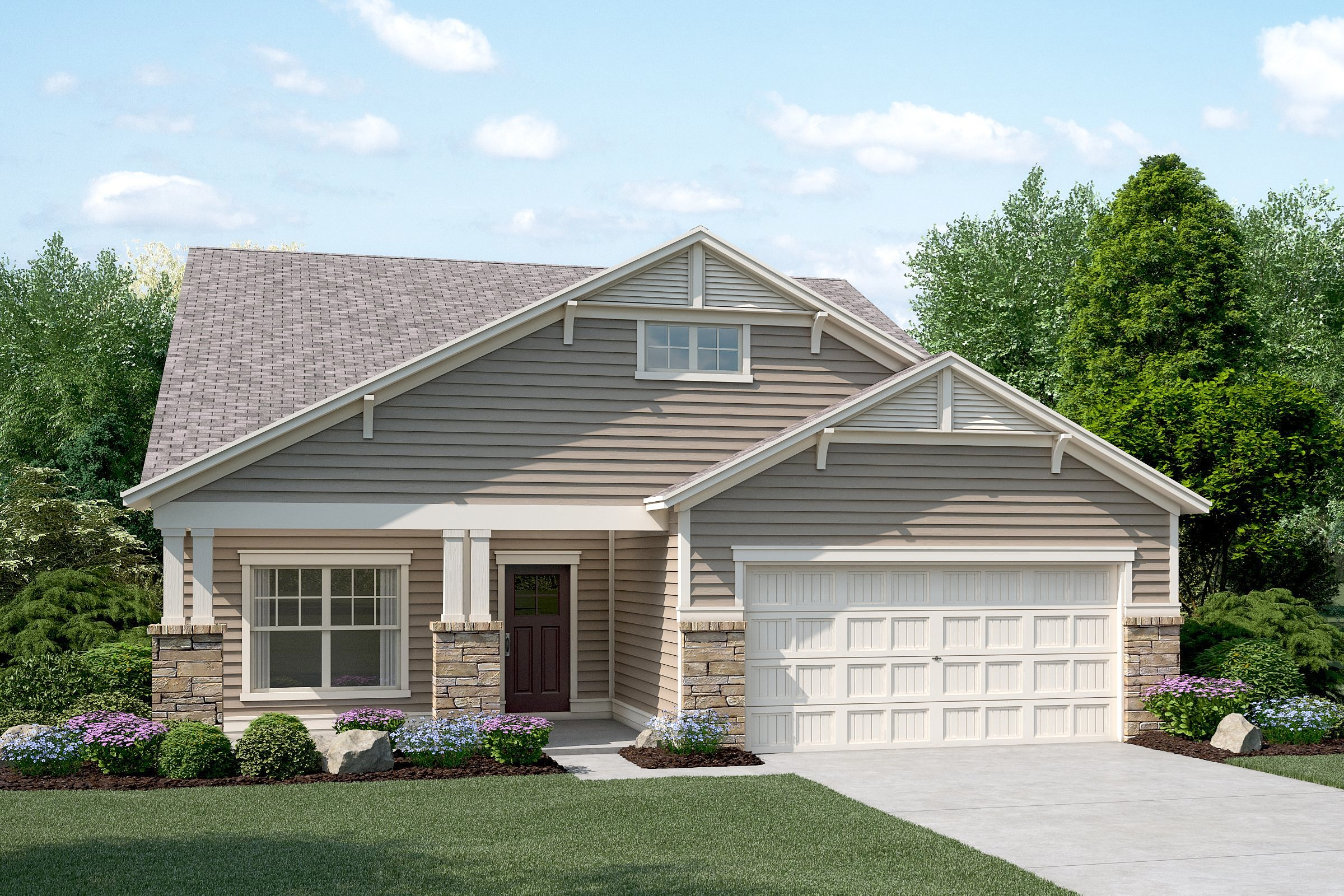 Image of rent to own home in Holly Springs, GA