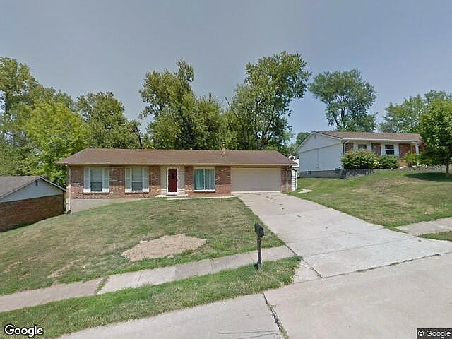 Image of rent to own home in Bridgeton, MO