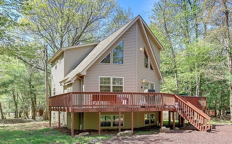 Image of rent to own home in Lake Harmony, PA
