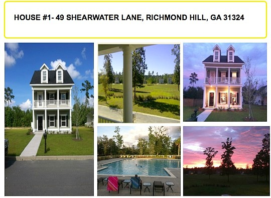 Image of rent to own home in Richmond Hill, GA