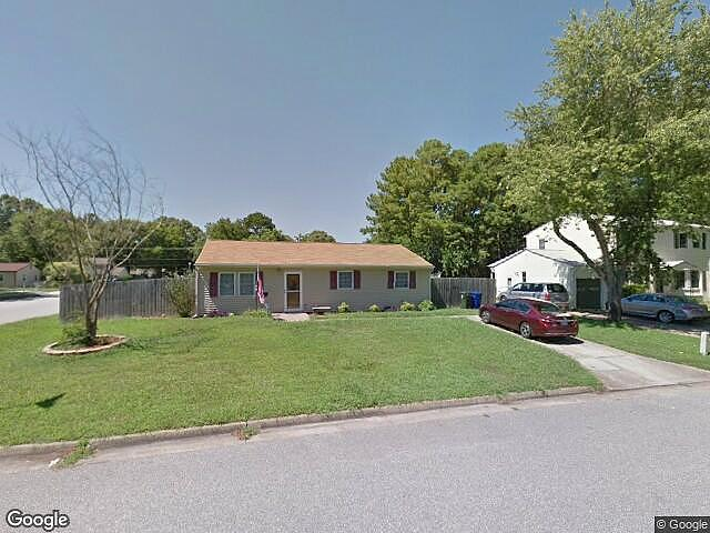 Image of rent to own home in Newport News, VA