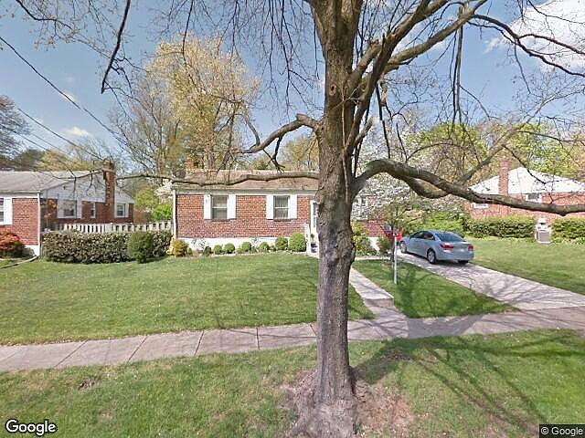 Image of rent to own home in Rockville, MD